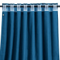 Palazzo Curtain, Blue
