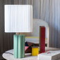 Gioia Table Lamp, Almond Green