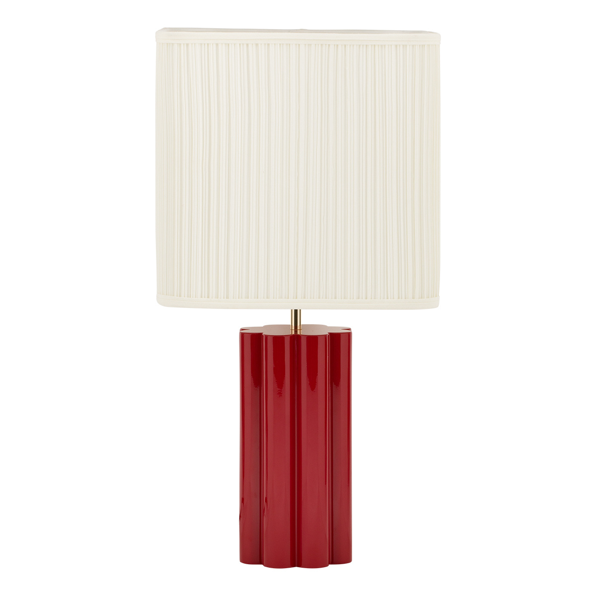Gioia Table Lamp, Red