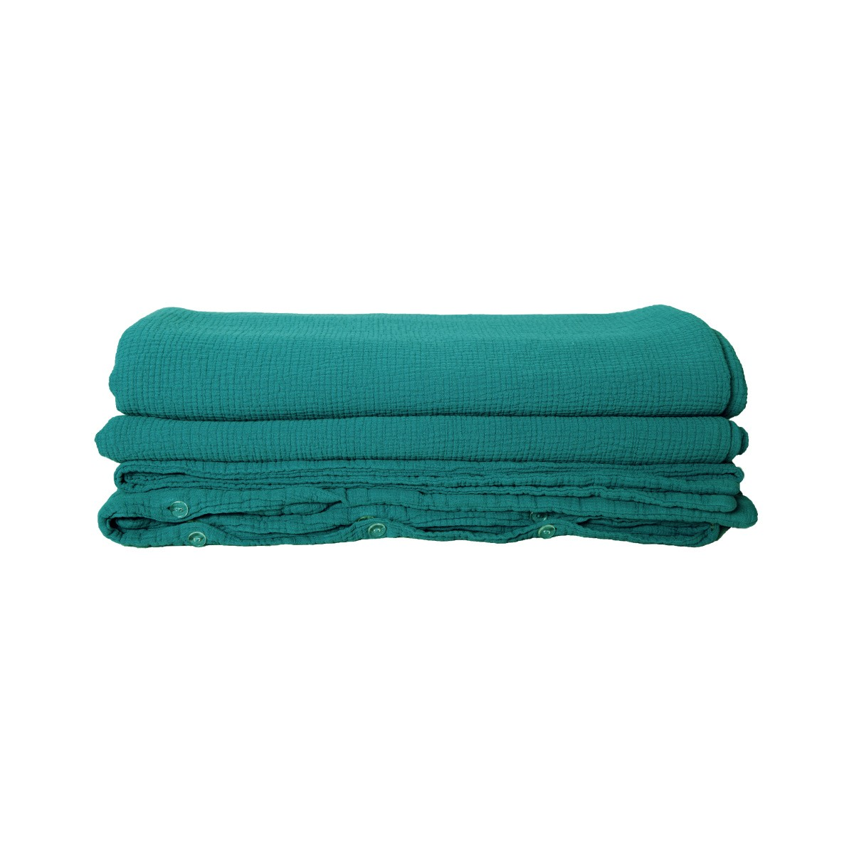 Como Duvet Cover, Green