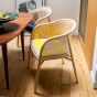 Cavallo Armchair, Kvadrat / Raf Simons Yellow Wool with Natural Frame - Limited Edition