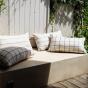 Arezzo Cushion, Check Pattern