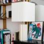 Gioia Table Lamp, Cream White