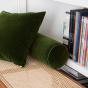 Adri Cushion Fir Green velvet