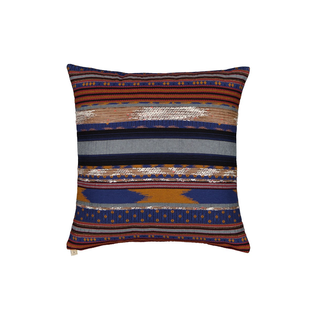 Viaggio Cushion Blue print