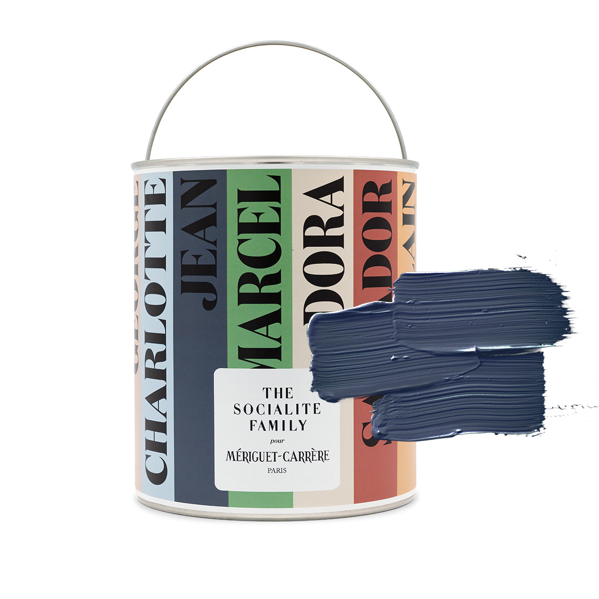 """Jean paint - Shade n°002 """"The Modernists"""" - Navy blue"""
