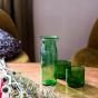 Duo de verre Torino vert