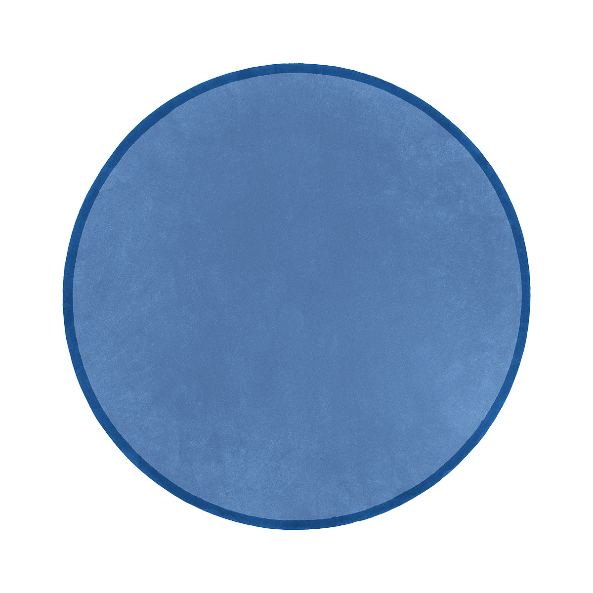 Luna Blue Round Rug