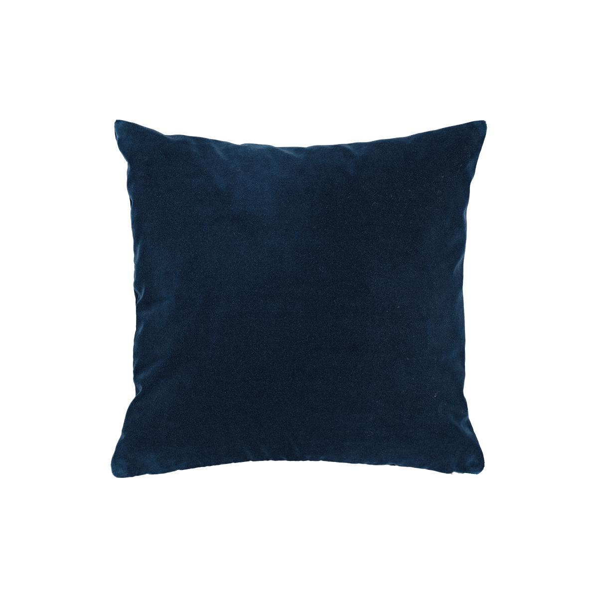 Rotondo Night Blue Velvet Cushion