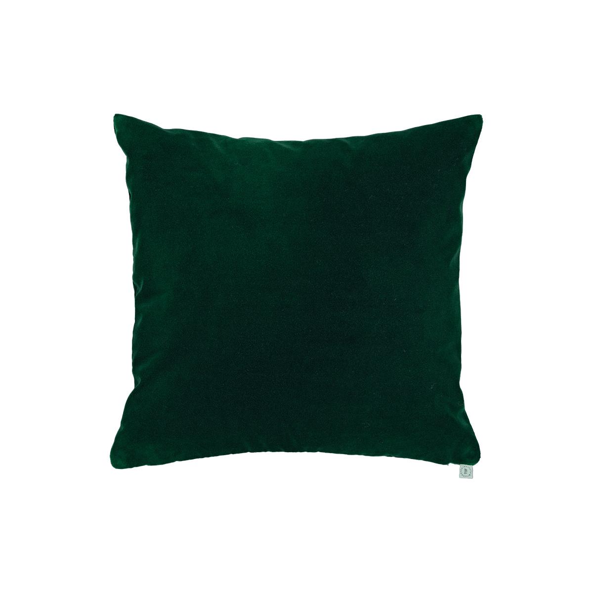 Rotondo Fir Green Velvet Cushion