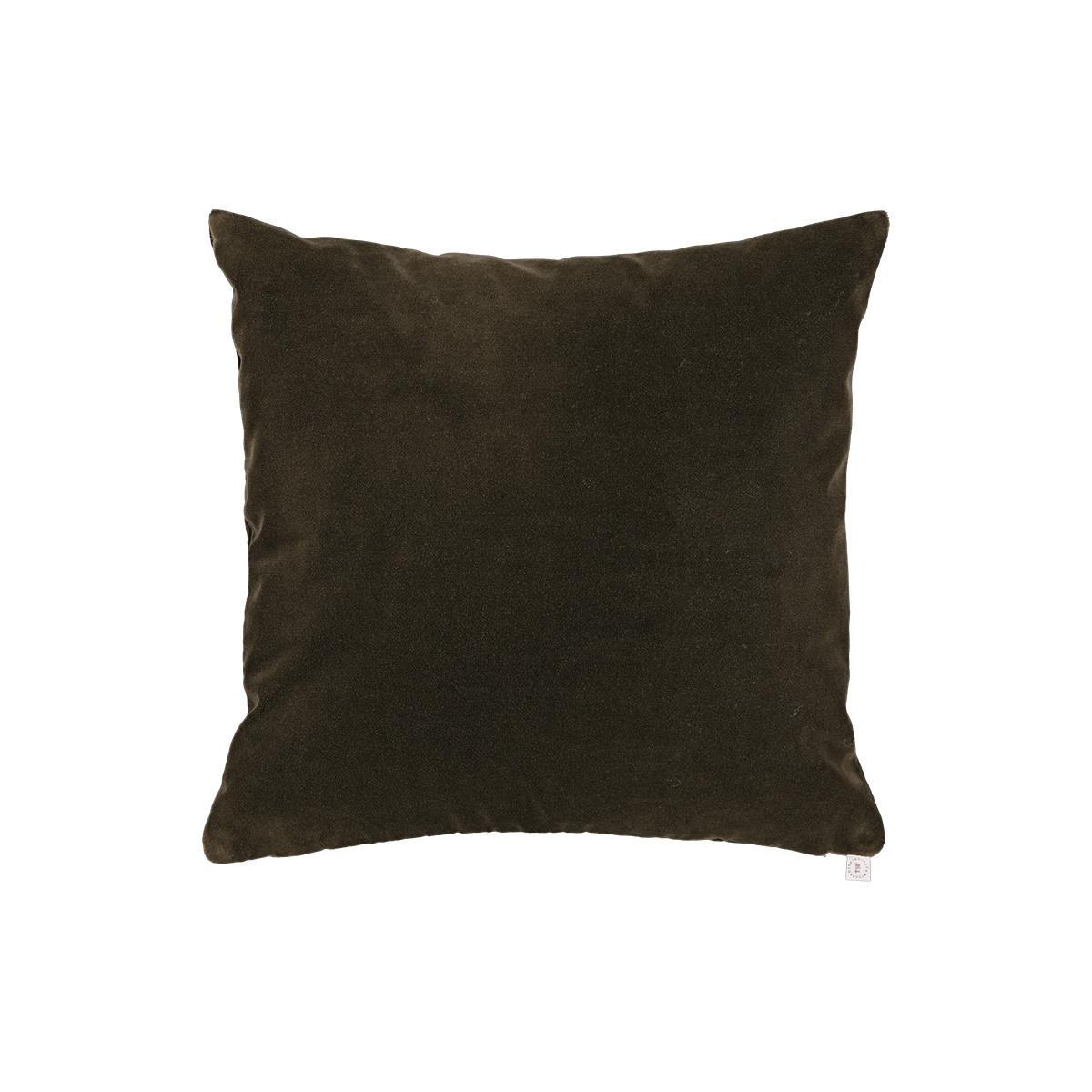 Rotondo Taupe Velvet Cushion