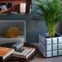 Paris-Milano Blue Planter - Cristina Celestino for The Socialite Family