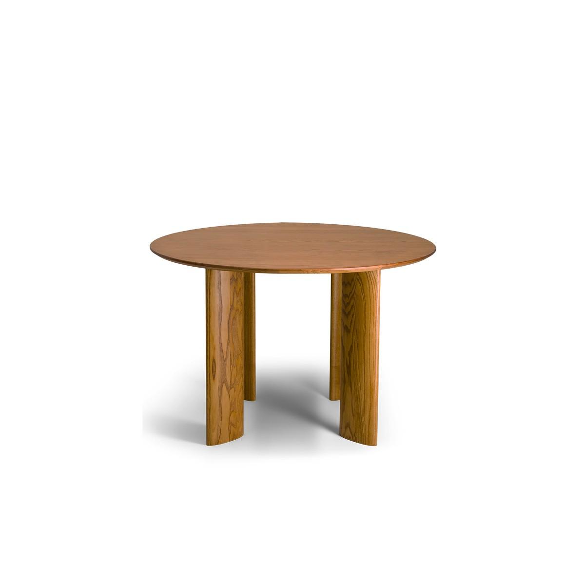 Carlotta Alta Round Wooden Table