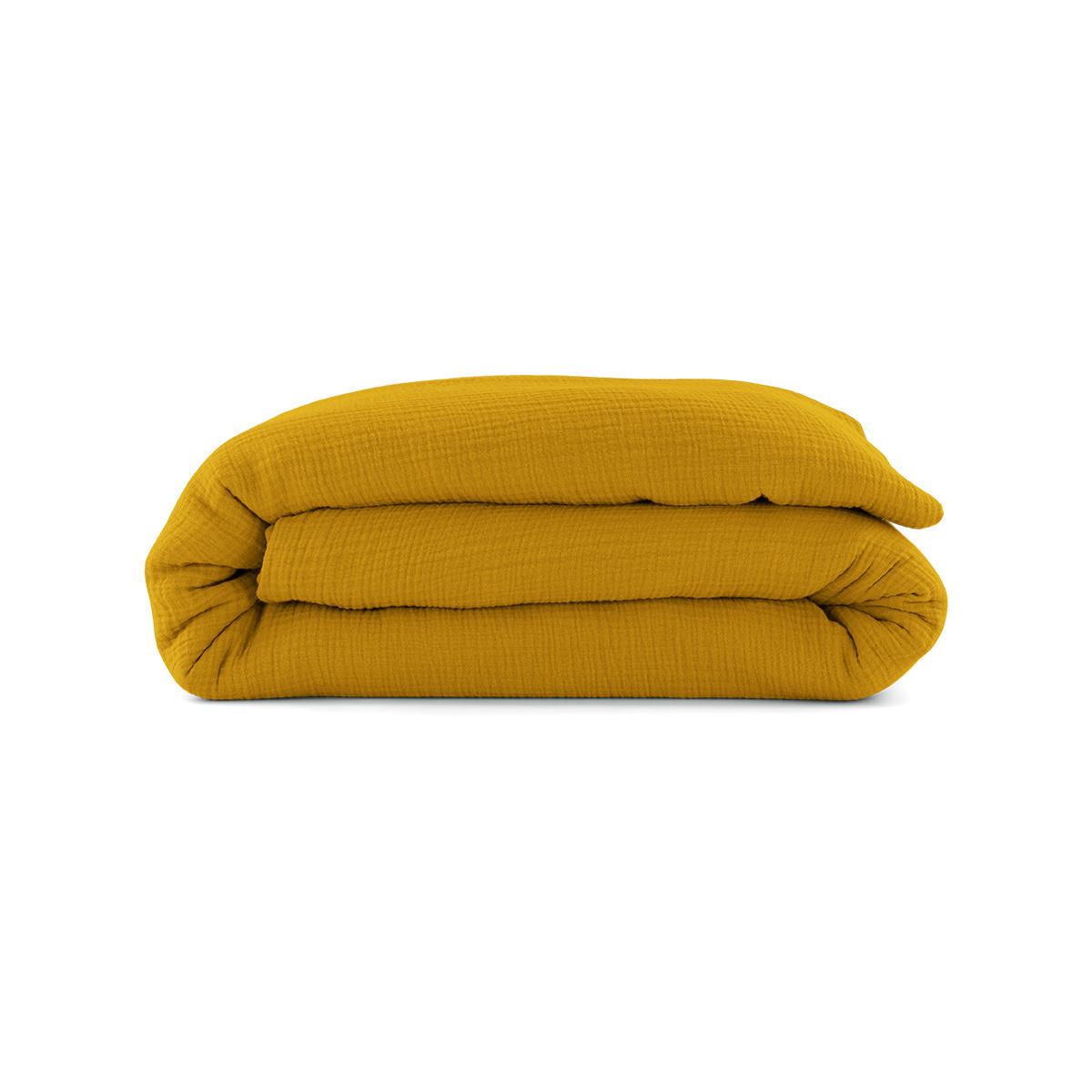 Como Duvet Cover Mustard