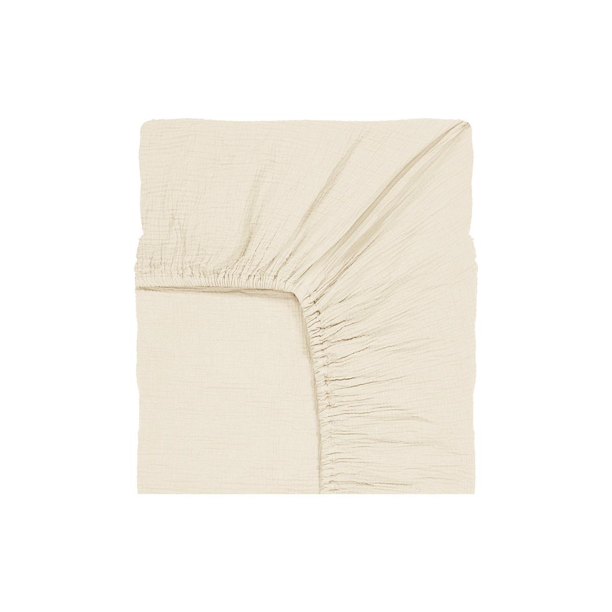 Como Fitted Sheet Cream White