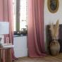 Pink Cotton Gauze Bambina Curtain