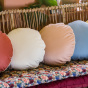 Bomboloni Cushion, Cream White