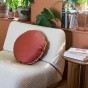 Bomboloni Cushion, Brick Red