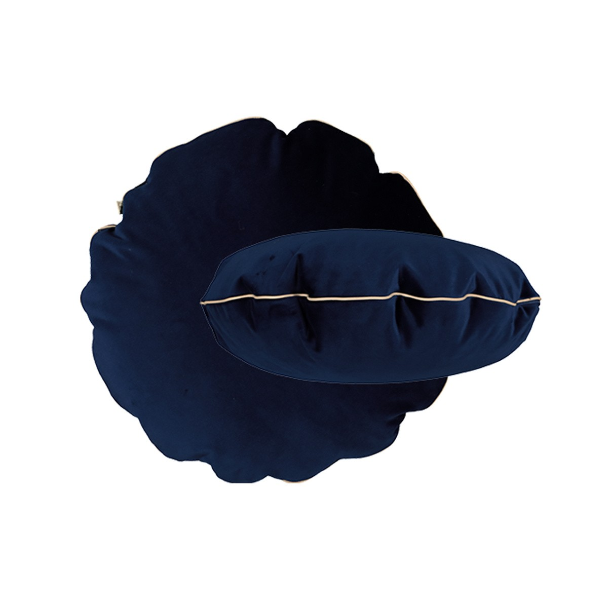 Bomboloni Cushion, Navy Blue Velvet