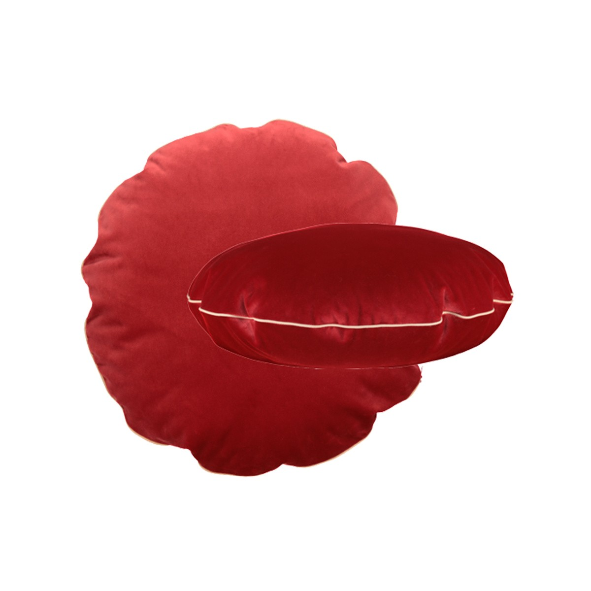 Bomboloni Cushion, Red Velvet