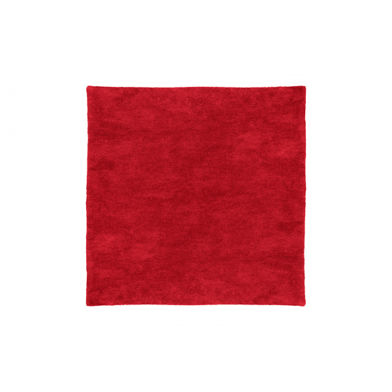 Tapis Velluto rouge 200 x 200