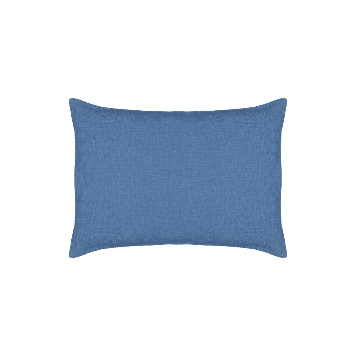 Taie d'oreiller Como bleue