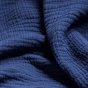 Plaid Copertina bleu foncé