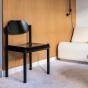 Chaise Achille noire