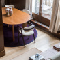 Table de salle à manger ovale Carlotta Alta - 6 places