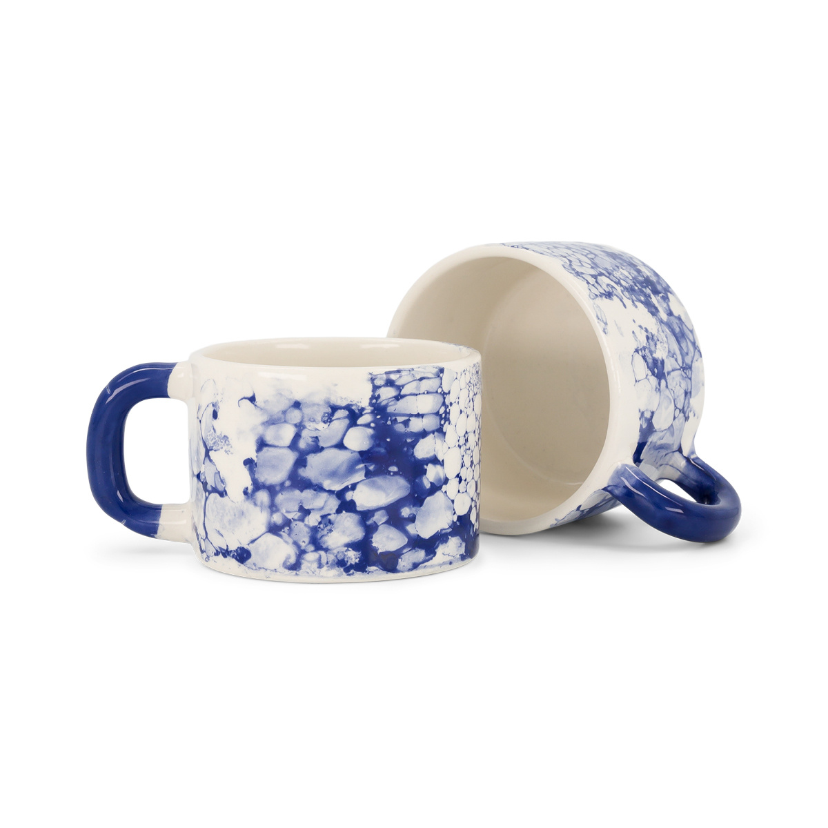 2 tasses Bolle bleues