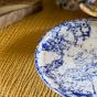 4 assiettes à diner Bolle bleues