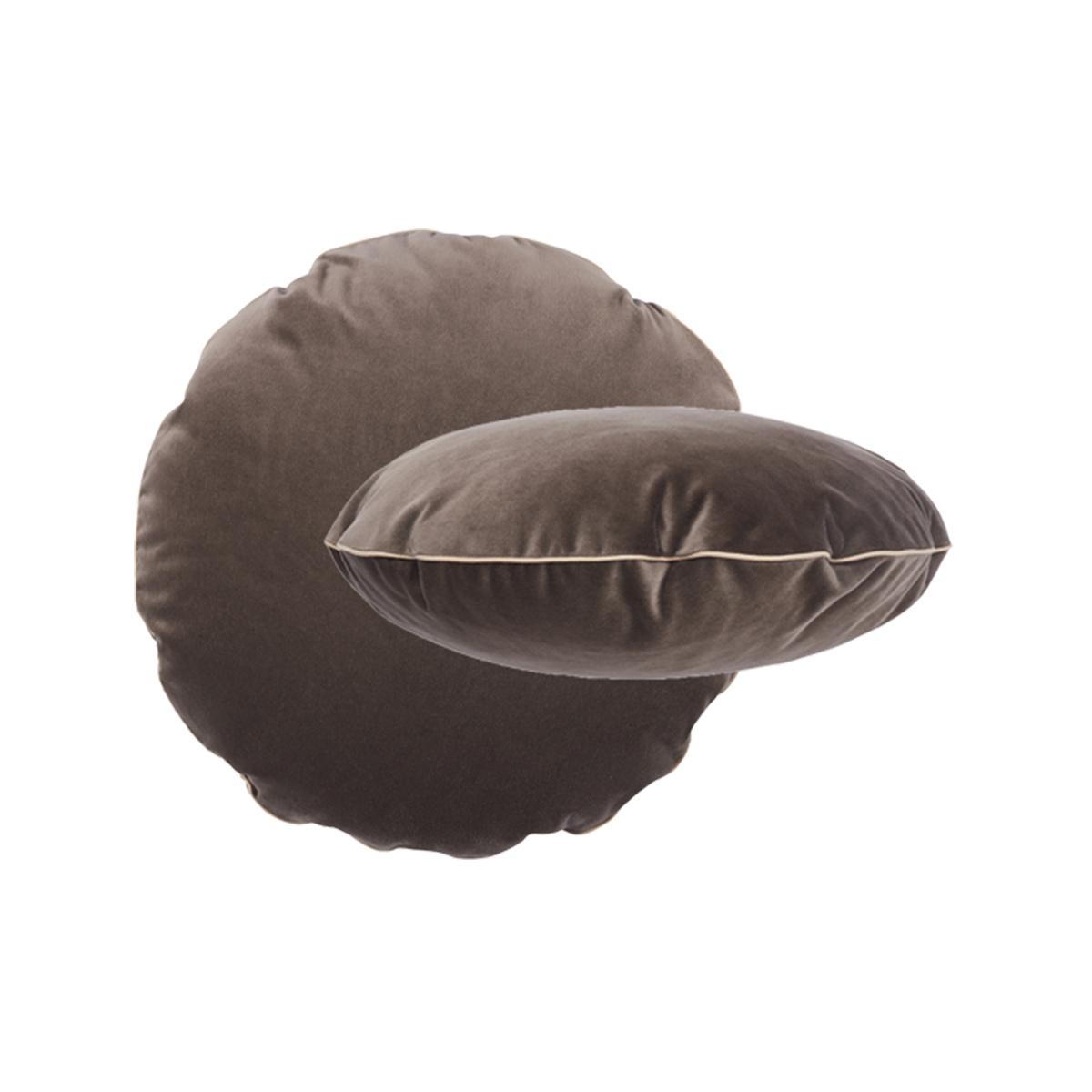 Coussin Bomboloni gris